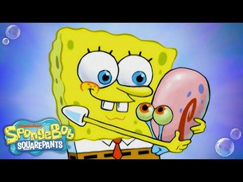 Gary's Song! 🐌 🎶 #TuesdayTunes | SpongeBob