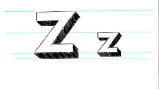 M Alphabet In 3d How to Draw 3D Letters A-Z - Write your name in 3D letters ...