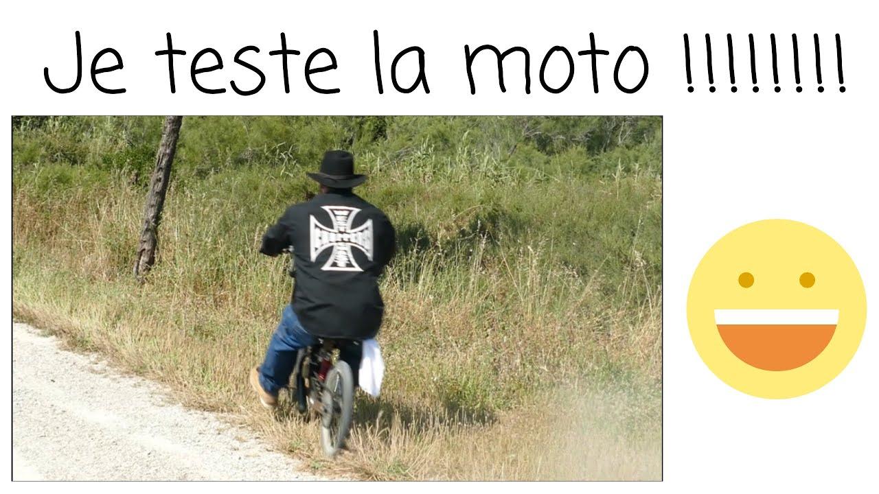 On teste La moto Finalement!!!!!!!!!!!!!