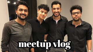 Ducky bhai 🦆 Khujlee family sunny jafry meetup vlog || good news bhi h or bad news bhi   🤔