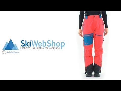 Betere Kilpi - Keku W - Hardshell Skibroek - Dames - YouTube EF-88