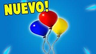 *NUEVO* GLOBOS o BALLOONS en FORTNITE BATTLE ROYALE!! 🎈🔥