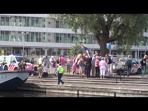 Pride Walk 2014 Amsterdam Boottocht Pink Nieuw West