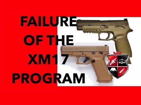 The Failure Of The XM17 Modular Handgun Program