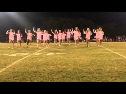 Grapevine Faith Christian School - Varsity Cheer Senior Night