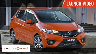 2015 Honda Jazz launch in India Video | CarDekho.com
