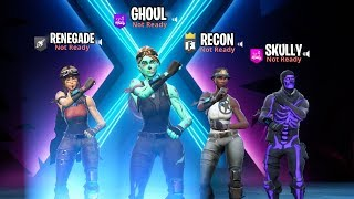You see THIS squad coming at you... wyd? (ALL RARE SKINS)