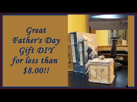 Quick Father's Day Gift Idea with Dollar Tree items