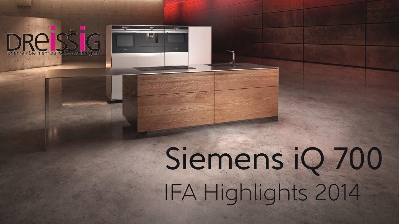 Siemens Iq700 Kuchengerate Ifa 2014 Youtube