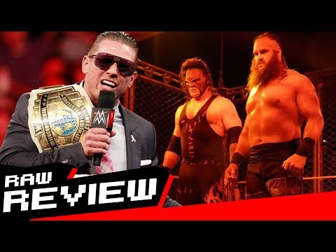 REVIEW-A-RAW 10/16/17: Kane Joins The Miz's TLC team vs. The Shield