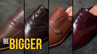 Виды классической мужской обуви. Мужская обувь.