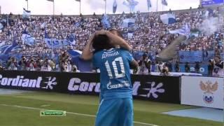 Гол Кержакова в матче Зенит - Спартак ( 3 : 0 )