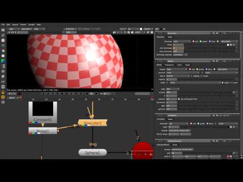 Nuke 3D compositing