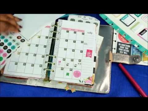 Come Plan WIith Me In My Agenda 52 Mini Planner