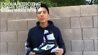 Adams Boxing Shoes AB-V3 Review