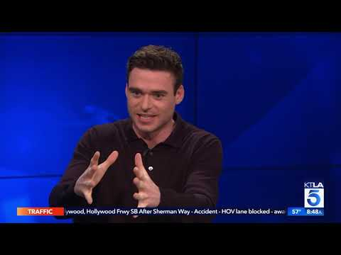 "Richard Madden Talks James Bond Rumors, GOT Reunion and New Hit Show ""Bodyguard"""