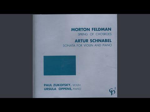Sonata for Violin and Piano: Allegretto poco vivace