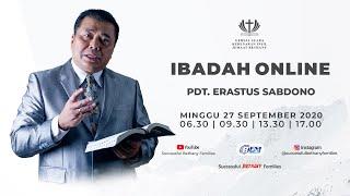 Ibadah Raya 3 - Pdt. Dr. Erastus Sabdono - Pencobaan Mendewasakan Kita