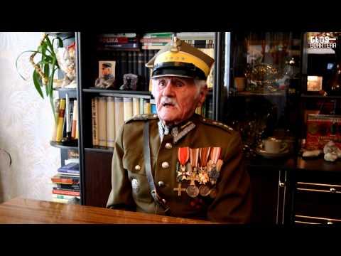 Pieśni wojskowe w wykonaniu 98-letniego rotmistrza 9. psk - Feliksa Hoduna
