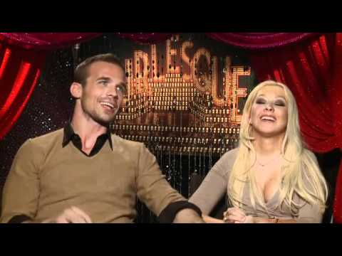 Cam Gigandet and Christina Aguilera - Burlesque Interview