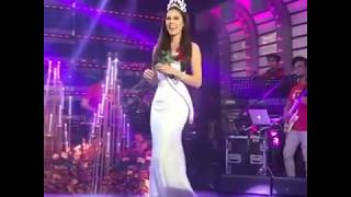 CATHRIONA GRAY ON SHOWTIME #MissUNIVERSE2018