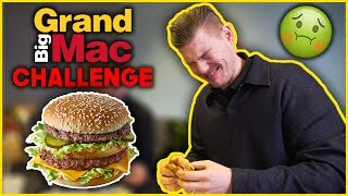 The GRAND BIG MAC CHALLENGE Nearly Ended Us! | With The Bentleys Ep.50