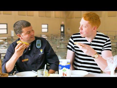 Testar maten i ett svenskt fängelse