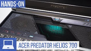 Acer Predator Helios 700 First Look: Gaming Laptop with Sliding Keyboard