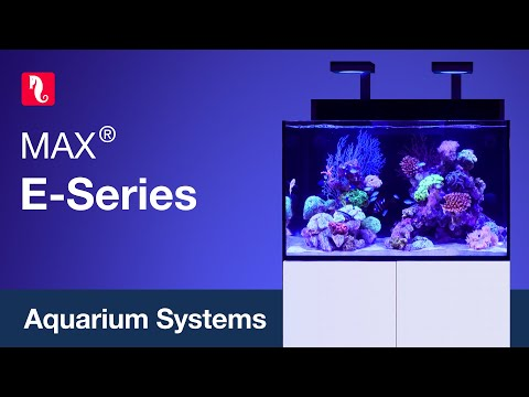 Red Sea MAX E-Series - Fully Featured REEF-SPEC Open Top Reef Aquariums