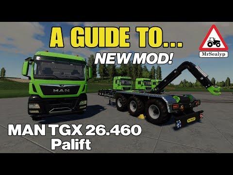 A Guide to… MAN TGX 26 460 HKL  Farming Simulator 19, PS4