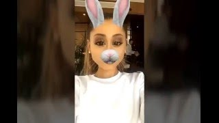 Keeping Up With Nonna | Ariana Grande Snapchat