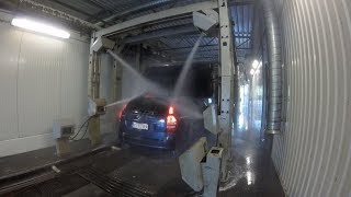 WashTec SoftLine Linear Conveyor Car Wash (GoWash Design)