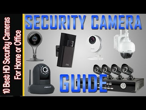 Top 10 Best Home Security Cameras 2018 You Can Buy On Amazon
