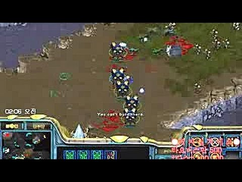 격하게 몰아치네 짜식들!! Starcraft Brood war, Broadcasting Gameplay.