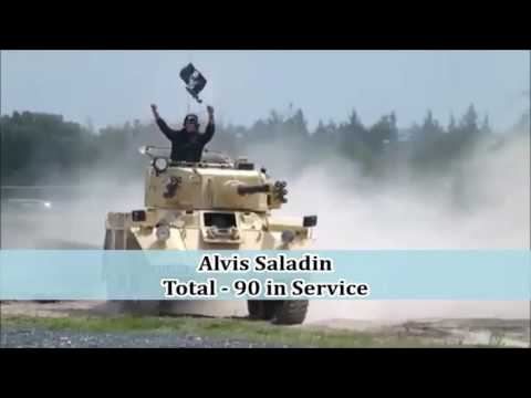 Power of UAE Army Armoured Vehicles