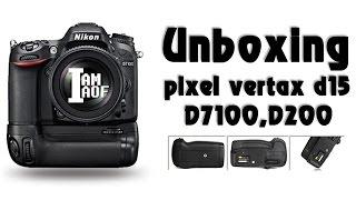 IAOFREVIEW Ep:3 pixel vertax D15 D7100,D7200 , Batterygrip(IAMAOF)