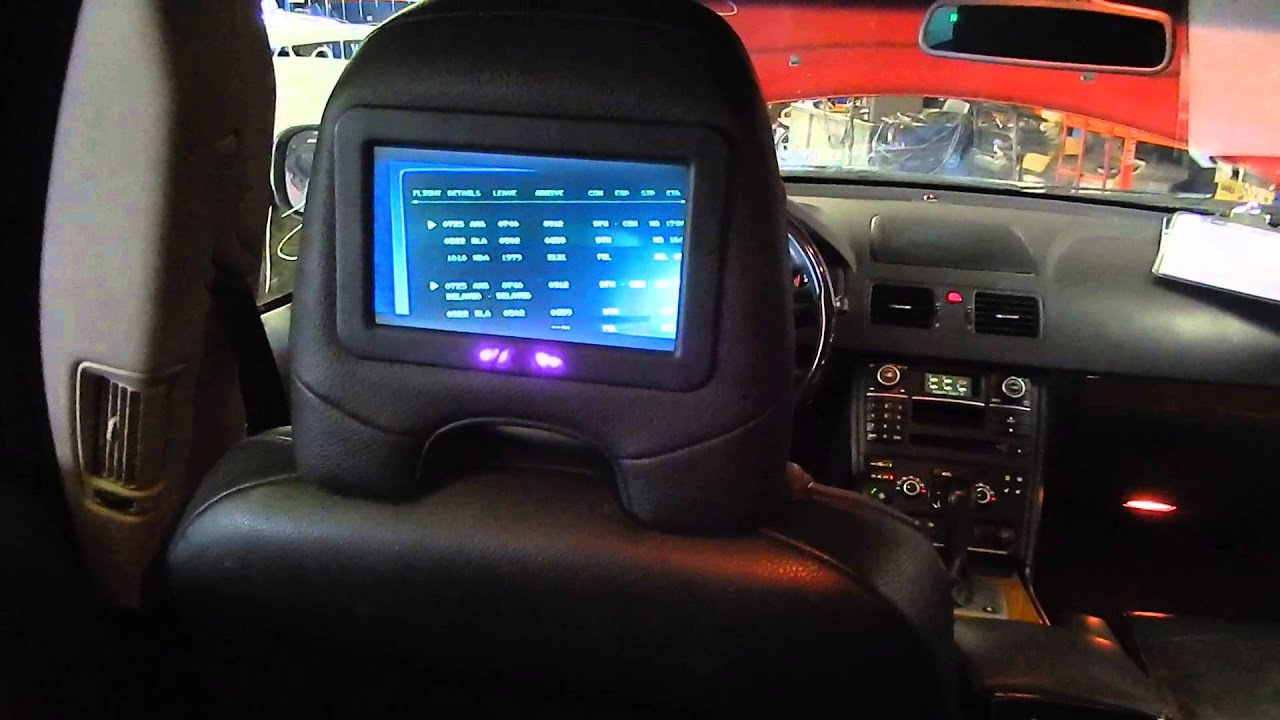 a14050 2007 volvo xc90 entertainment system test video. Black Bedroom Furniture Sets. Home Design Ideas