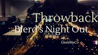 Throwback: Blerdology presents Blerds Night Out