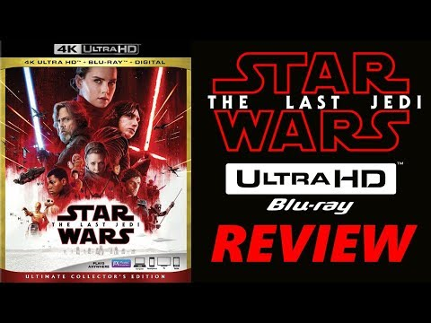 Star Wars: The Last Jedi 4K Bluray Review | Dolby Vision | Dolby Atmos | HDR10