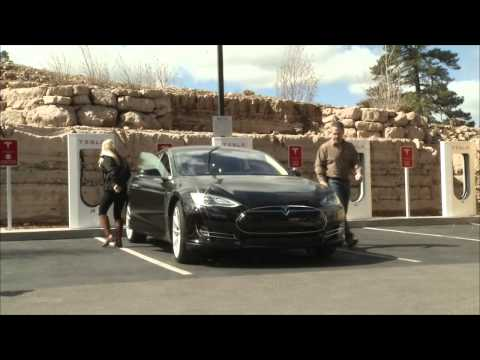 Supercharged: New Tesla Charging Station in Flagstaff