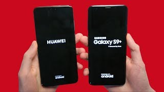 Huawei P20 Pro vs Samsung Galaxy S9 Plus Speed Test & Cameras! 🔥