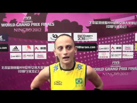 FIVB Volleyball World Grand Prix - Ningbo 2012 - Fabiana Oli