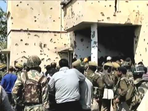 B4  ASHWIN KUMAR TERRORIST ATTACK AT RAJBAGH POLICE STATION