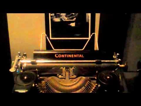 Historian Discusses Martin Niemöller's Typewriter