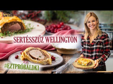 Sertésszűz Wellington