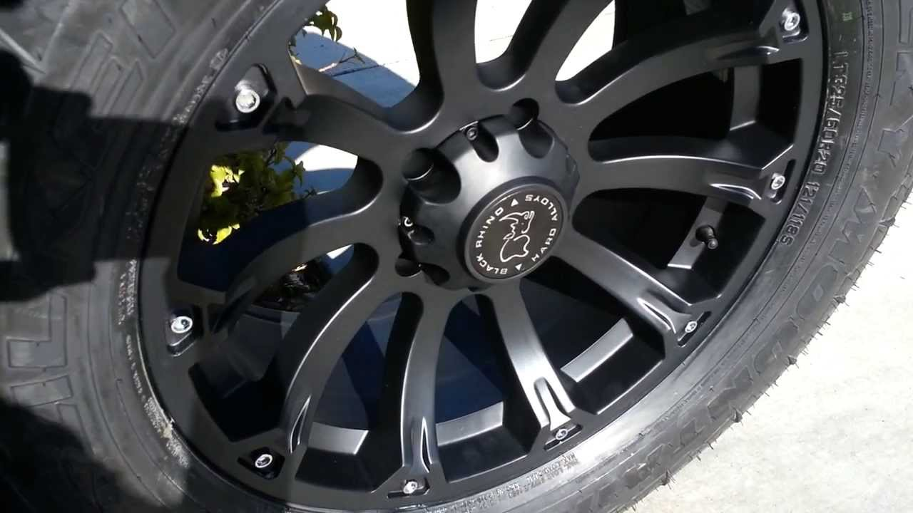 Black Rhino Sidewinder Wheels 20x9 Youtube