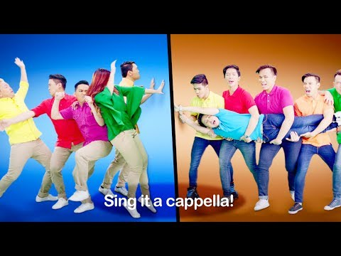 Join the #CombiAcappella Battle