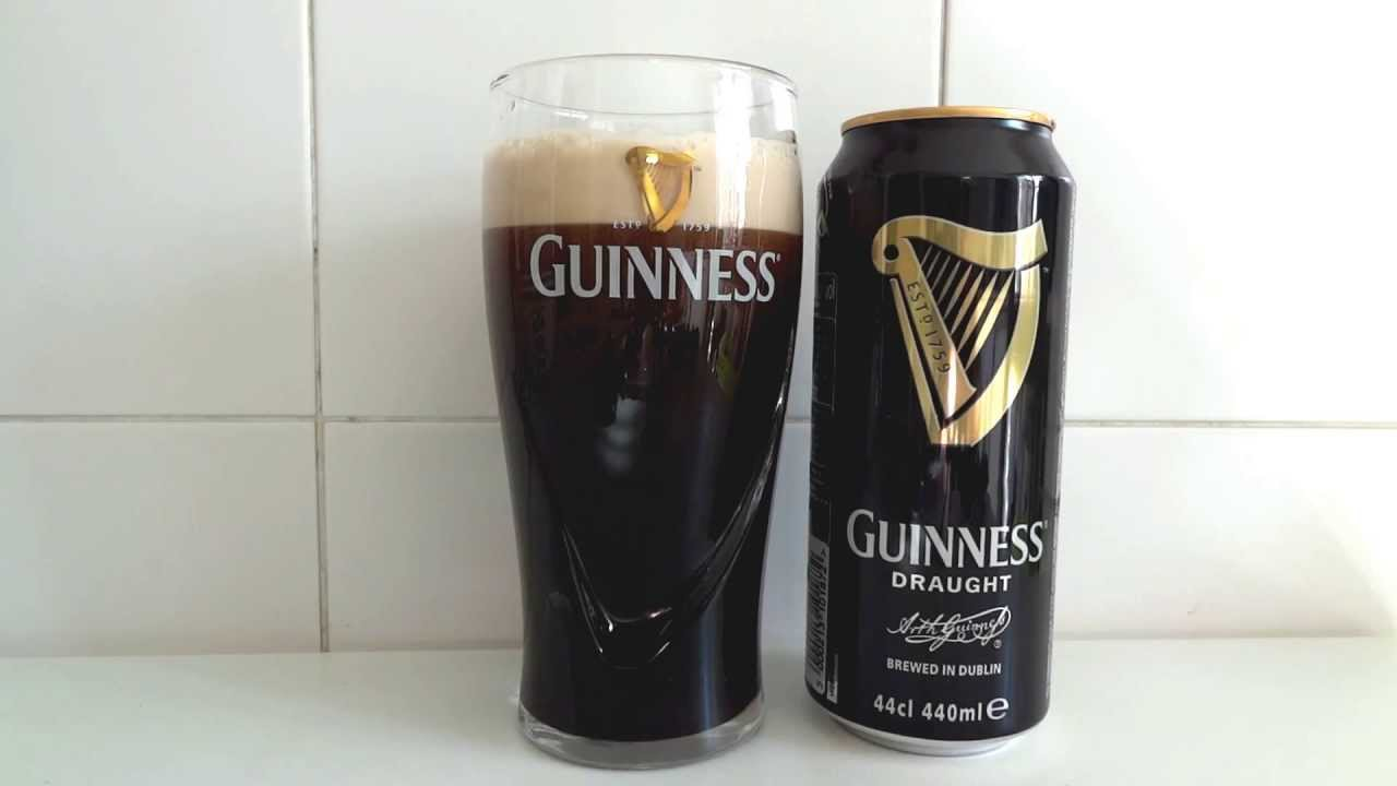 Guinness can: the perfect pour & serve - Como servir una Guinness ...