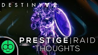 Destiny 2: Prestige Raid Lair Thoughts