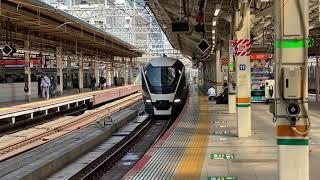JR東日本のサフィール踊り子が東京駅に入線する動画【2021.03.29】